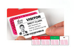 Expiring visitor badge, expiring badge, visitor badge