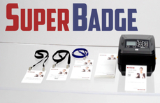 SuperBadge Event Badges for Zebra Printers